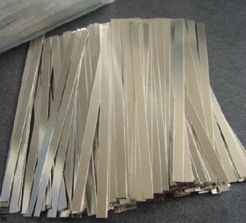 30 pcs Pure 99.96% Low Resistance Nickel Ni Metal Strap Sheet 0.1*4*100 mm #ESZ1