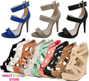 NEW-Women-High-Heel-Gladiator-Wedge-Sandal-Open-Toe-Stiletto-Fashion-Pump-Shoe