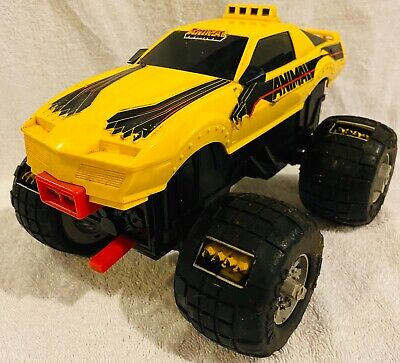 Vintage 1984 Galoob THE ANIMAL 4X4 TOY MONSTER TRUCK CAR Firebird Tested Works