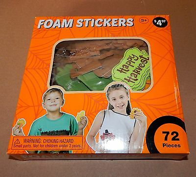 Foam Stickers Kids Activity Kit By Wal Mart 72pc 3+ Around 2