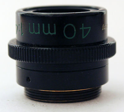 Carl Zeiss 40mm 14.5 Luminar Macro Lenses Germany Microscope Objectives F4.5