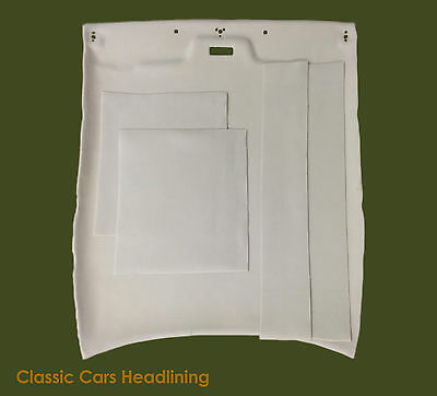 Headliner for Jaguar XJS 1975 / 1991 in Grey or Beige/Oatmeal with Trim Kit