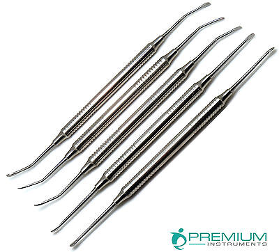Sinus Lift Hollow Handle Dental Surgical Double Ended Oral Set Of 5 Instruments