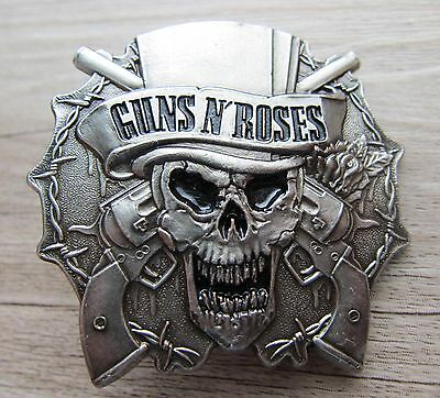 GUNS N' ROSES - very  BIG Logo - Pin - A  - 90th / ultrarar!