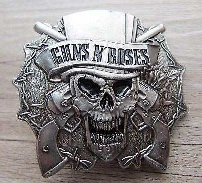 GUNS N' ROSES - very  BIG Logo - Pin - A  - 90th / ultrarar!