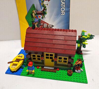 Lego Creator 3-in-1 Log Cabin Set 5766 Missing 1 Instruction Book