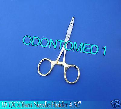 10 Tc Baby Olsen Hegar Needle Holder 4.50 Surgical Dental Instruments