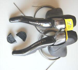 Shimano Ultegra Brems- Schalthebelsatz ST-6700 / ST-6703 STI 3x10 wie Bild