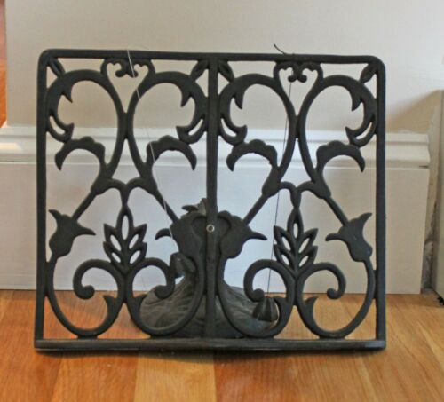Cast Iron Book Stand Holder Bible Display Recipe Book