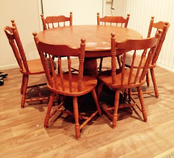 Dining table and 6 chairs Kogarah Rockdale Area Preview