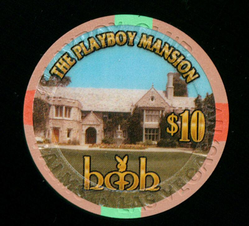 PLAYBOY CLUB PALMS CASINO $10 GRAND OPENING CHIP (C902)