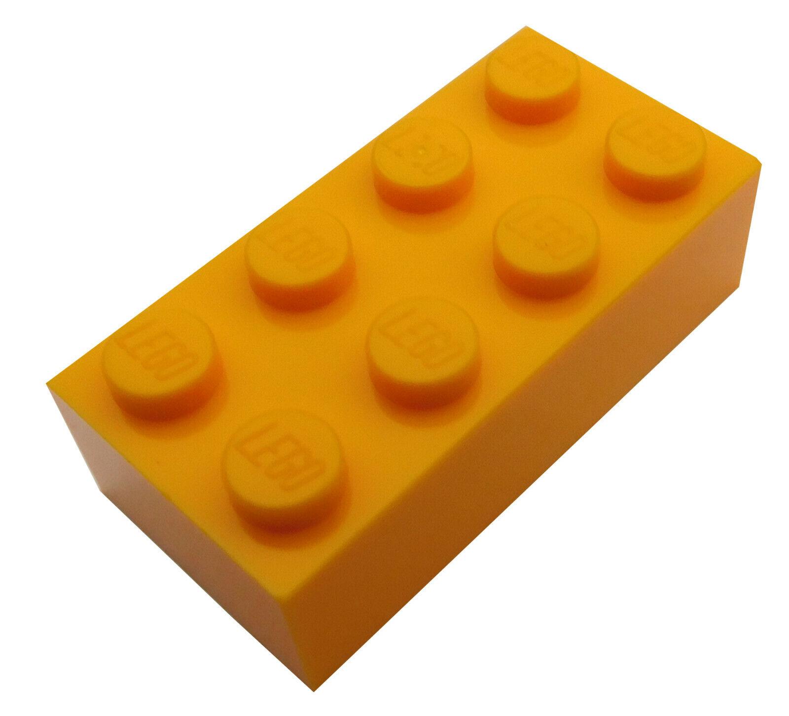 Lego 2 x Bausteine Steine grau 2x4 Basic Bricks Light Bluish Gray 3001 NEU NEW