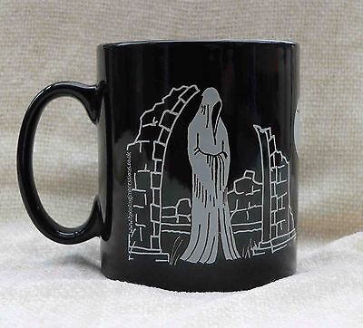 Haunted Graveyard Ghost and Skeleton theme mug great present for halloween ()