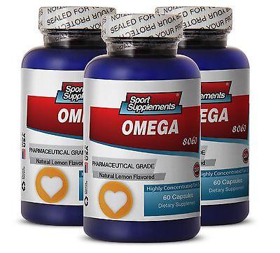 Supreme Fat Burner - Fish Oil Omega-3-6-9 3000mg - Docosa...