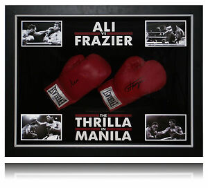 Ali-and-Frasier-Thrilla-in-Manilla-dome-duel-signed-framed-glove-display