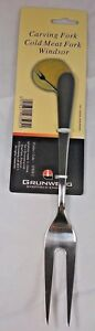 Windsor By Grunwerg Sheffield Stainless Steel Cold Meat & Carving Fork