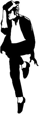 Michael Jackson Silhouette Car Decal Window Sticker - MJ003