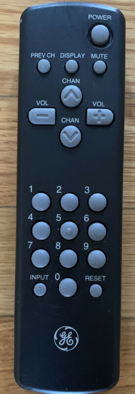 GE TV Remote Control Transmitter CRK64C1 for TVs General Electric or RCA.
