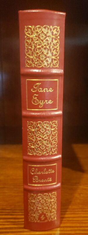 JANE EYRE by Charlotte Bronte  Easton Press Leather 100 GREATEST BOOKS EVER