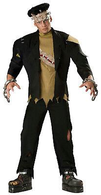 Incharacter Men's Monster Deluxe Frankenstein Adult Costume Size Medium - Deluxe Frankenstein Costume