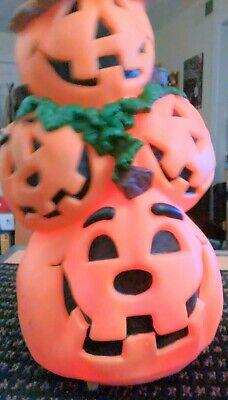 Animated Halloween Pumpkins (Animated Halloween Stack of Dancing, Lighted, Talking Jack-o-Lanterns Pumpkins)