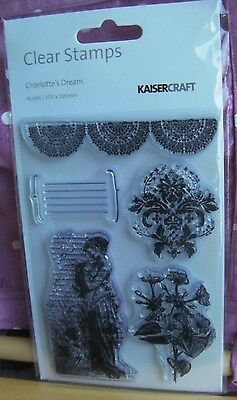 Kaisercraft Clear Stamps - Charlotte's Dream