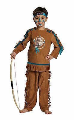 Mottoland Kinder Indianer Junge Kostüm Fasching Karneval Halloween (Kinder Indianer Junge Kostüm)