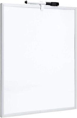 Brand New 11x 14 Magnetic Dry Erase White Board Aluminum Frame