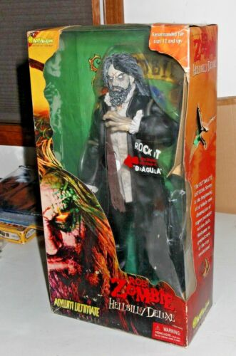 Talking rob zombie Hillbilly Deluxe  action figure