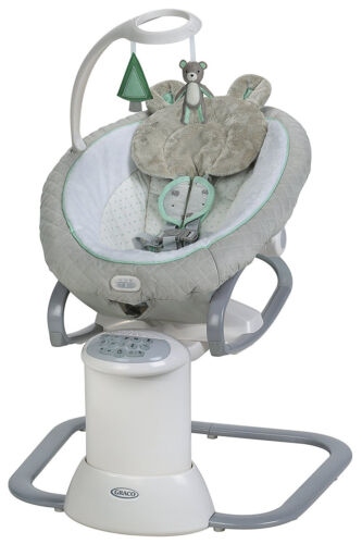 Graco Baby EveryWay Multi Use Swing Soother with Removable Rocker Tristan NEW
