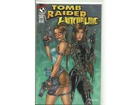Tomb Raider Witchblade 1A 1997 Turner Variant FN Stock Image