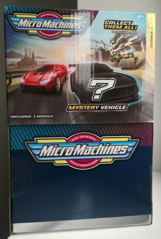 6 x Micro Machines 2020 Series 1 Mystery Vehicle Blind Bags Brand New & Unopened