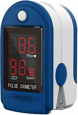 Usa Fda Finger Pulse Oximeter Blood Oxygen Sensor O2 Spo2 Monitor Heart Rate New