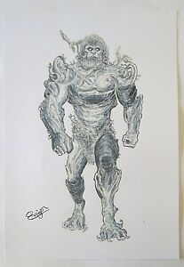 ORIGINAL-ART-PLAYING-ROL-GAME-XANAGENIS-ORIGINAL-DRAWING-BY-ROGER-BONET