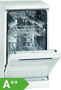 Bomann GSP 852 Geschirrspüler / A++ / unterbaufähig / Spülmaschine / 45 cm weiss