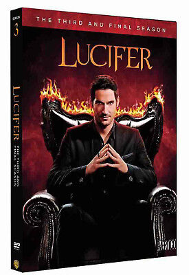 New Lucifer Complete Season 3 3Rd Third  Dvd  2018  5 Disc Set  New Sealed