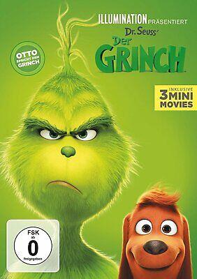 Der Grinch (2018) Inklusive 3 Mini Movies # DVD-NEU