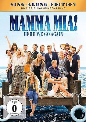 Mamma Mia 2 ! Here We Go Again - Sing Along Edition + Kinofassung # DVD-NEU
