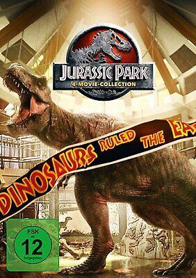 Jurassic Park Collection - 1+2+3+4 (Jurassic World) # 4-DVD-NEU