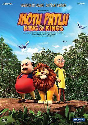 Motu Patlu  King Of Kings  2016    Bollywood Animated Hindi Movie Dvd