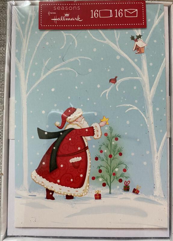 Hallmark Boxed Christmas Card set.  16 count