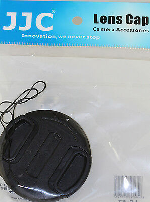 Pro Replacement Lens cap Cover For Fuji X10 X20 X30 Digital camera + Cap Holder for sale  Shipping to India