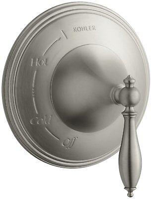 Kohler K-T309-4M-SN * Finial Traditional Rite-Temp Pressure-Balancing Valve (Finial Rite Temp Pressure Balancing)