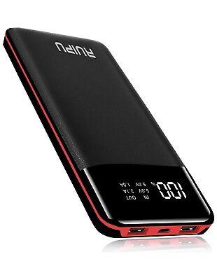 High Capacity Power Bank (Power Bank 24000mAh Portable Charger High Capacity Dual USB External Battery )