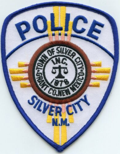 SILVER CITY NEW MEXICO NM POLICE PATCH