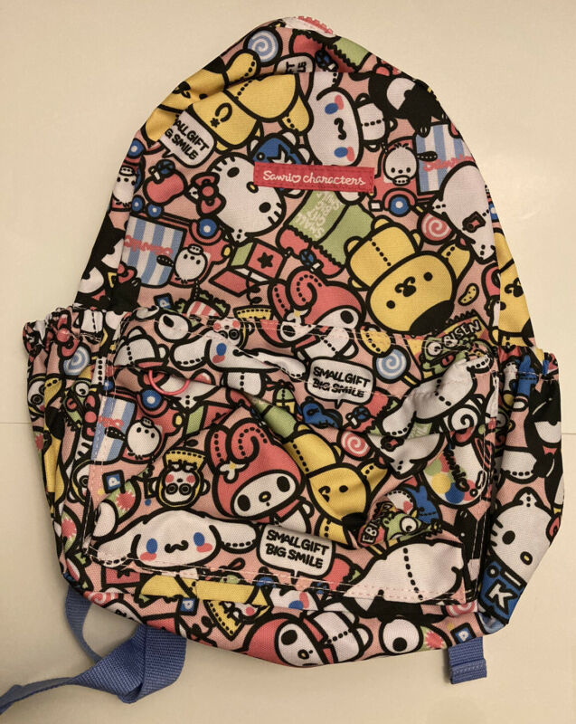 NWT Sanrio Hello Kitty Mini Small Bookbag Backpack *RARE*