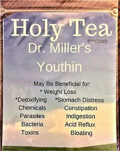 Dr Millers Holy Tea -  HUGE SALE!!!!! 3 Month Supply = 24 Bags + FREE S/H WOW!!!