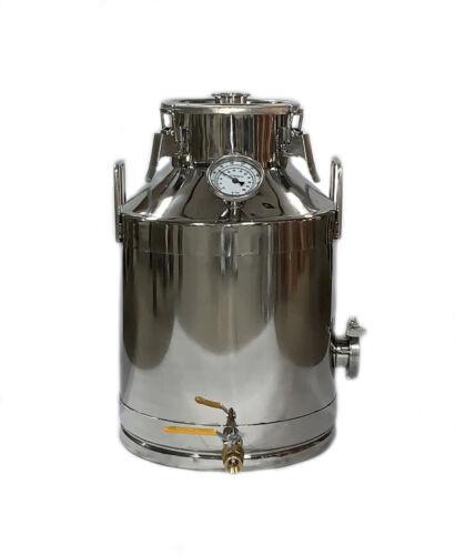 8 Gallon/30 Liter Milk Can Stainless Steel Still
