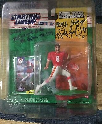 Nick Lowery Signed/ Autographed 1994 Starting Lineup...Kansas City Chiefs