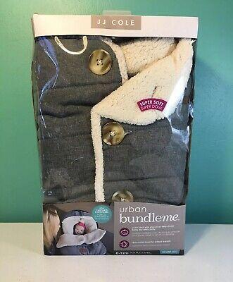 J.J Cole Urban Bundleme Fleece Bunting Bags Baby Infant Winter Warm Car Seat